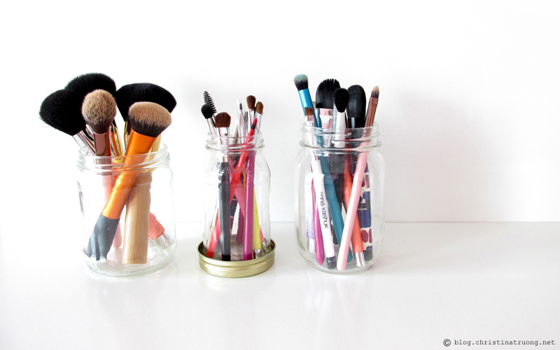 How to clean makeup brushes at home diy