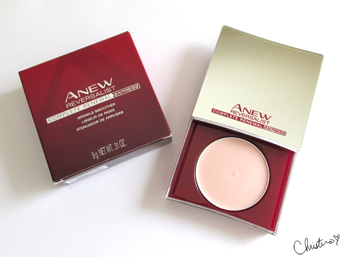 Influenster MegaVoxBox Avon Anew Reversalist Complete Renewal Express Wrinkle Smoother