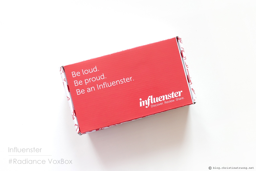 Influenster Radiance VoxBox Unboxing - Christina Truong