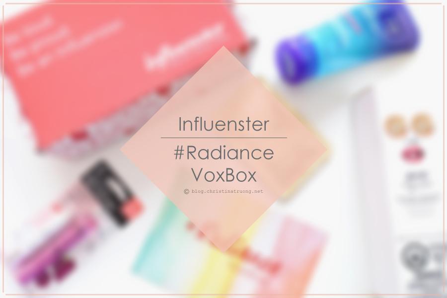 Influenster Radiance VoxBox