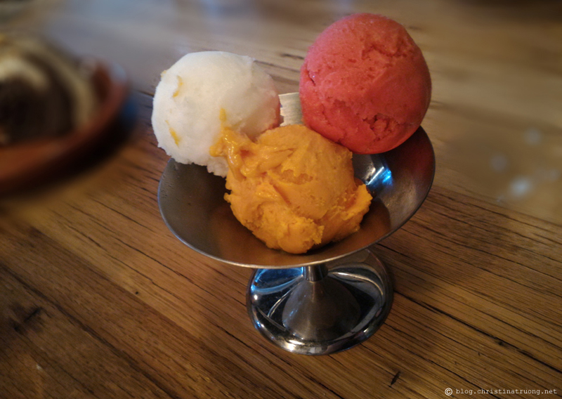 Jamie Oliver Jamie's Italian Lemon Mango Strawberry Fresh Fruit Sorbet