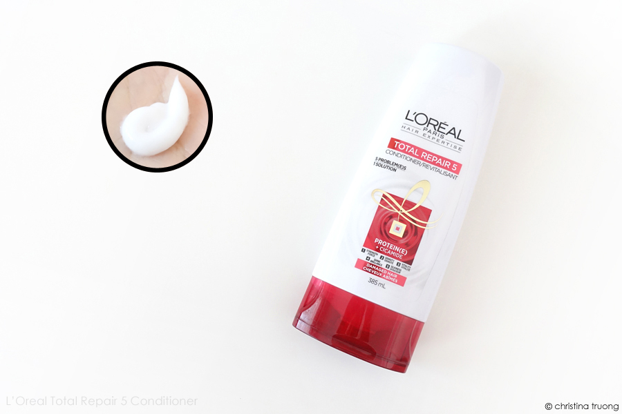 L'Oreal Paris Hair Expertise Total Repair 5 Shampoo and Conditioner Review