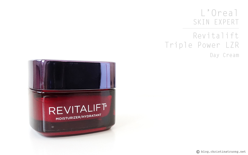 L'Oreal Paris Skin Expert Revitalift Triple Power LZR Day Moisturizer Review
