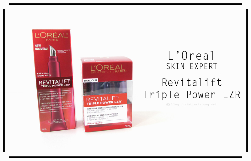 L'Oreal Paris Skin Expert Revitalift Triple Power LZR Eye and Day Cream Review
