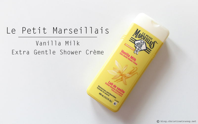 Le Petit Marseillais Extra Gentle Shower Creme in Vanilla Milk First Impression Review