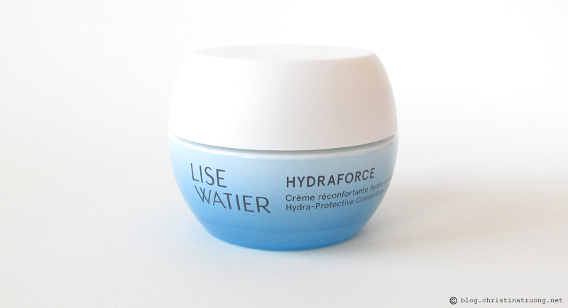 Lise Watier HydraForce Hydra-Protective Comforting Creme Hydrating Moisturizer Review and Experience