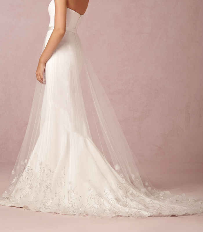 Dream Wedding Day Style Lover.ly Ava Tulle Skirt Theia
