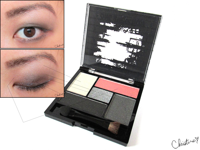 Makeup by One Direction Collection Review 4+1 Eyeshadow Palette