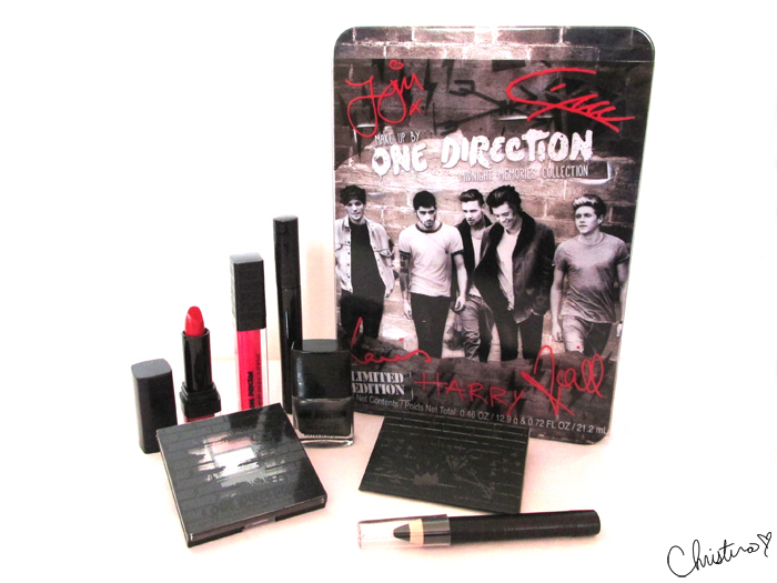 Makeup by One Direction Midnight Memories Collection Kit Review