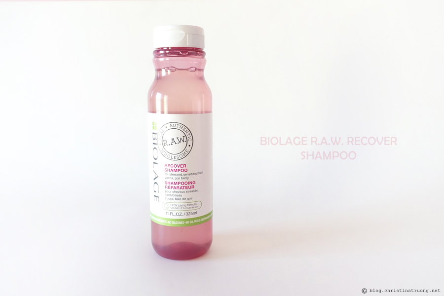 Matrix Biolage R.A.W. Recover Shampoo Review