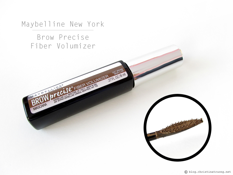 Maybelline New York Brow Precise Fiber Volumizer in Soft Brown Review
