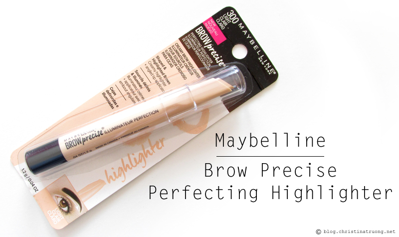 ChickAdvisor Unboxing - Maybelline New York Brow Precise Perfecting Highlighter