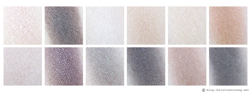 Maybelline The 24K Nudes Eyeshadow Palette Review Swatches