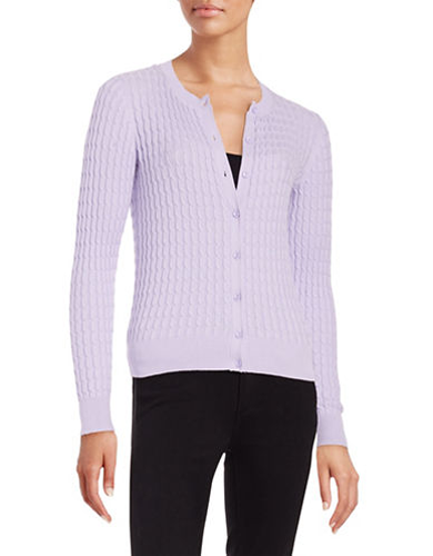 Mother's Day under $100 Gift Guide LORD & TAYLOR Cableknit Cardigan