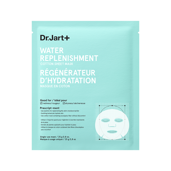 Mother's Day under $100 Gift Guide Dr. Jart+ Water Replenishment Cotton Sheet Mask