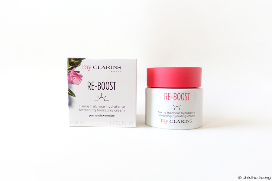 My Clarins Re-Boost Product Refreshing Moisturizing Cream Product Review