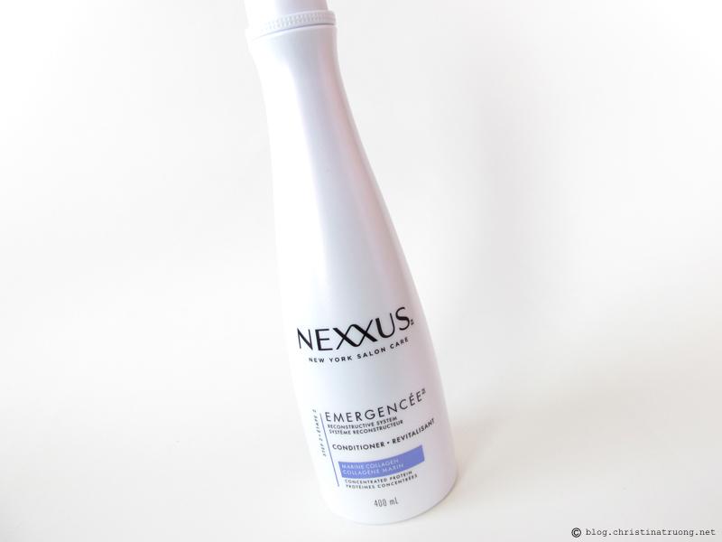 NEXXUS Emergencee Reconstrucive System Restoring Conditioner Review