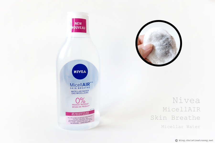 NIVEA MicellAIR Micellar Water Dry + Sensitive Skin Review