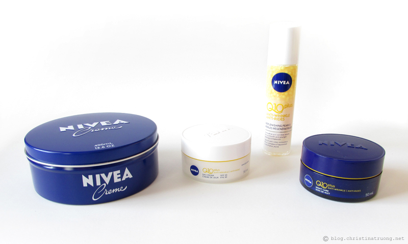 NIVEA Creme, NIVEA Q10plus Anti-Wrinkle Replenishing Pearls, Day Cream SPF30, Night Care Review