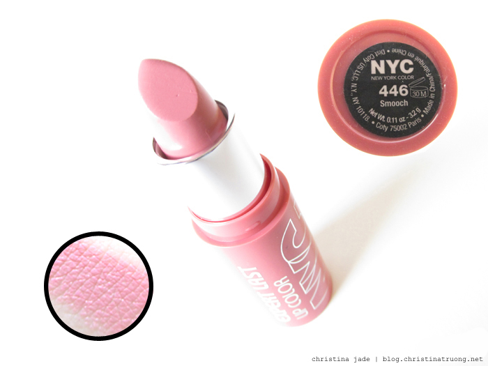 New York Color Expert Last Lipstick Swatches 446 Smooch