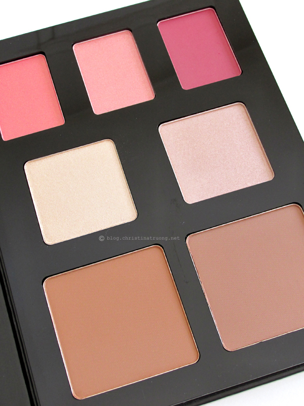 NYX Beauty School Dropout - Graduate Eye Shadow and Face Color Palette Swatches