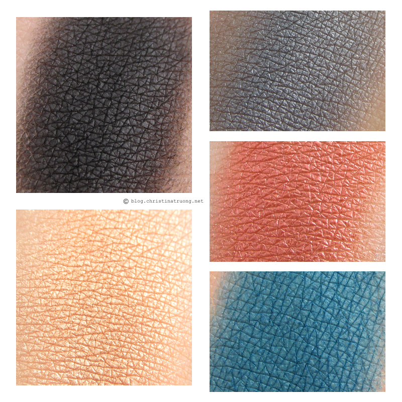 NYX Rocker Chic California Dreaming Eye Shadow Palette Swatches