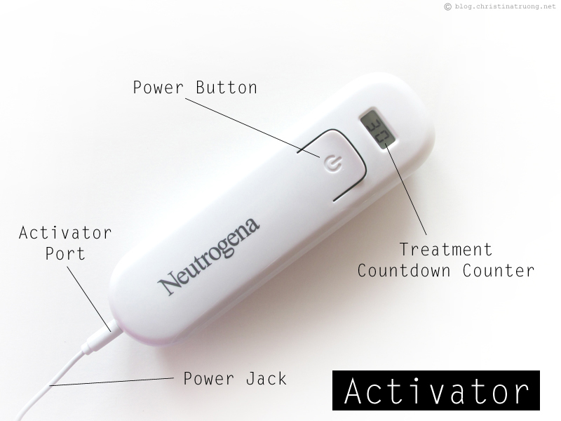 Neutrogena Light Therapy Acne Mask and Activator Information and Review
