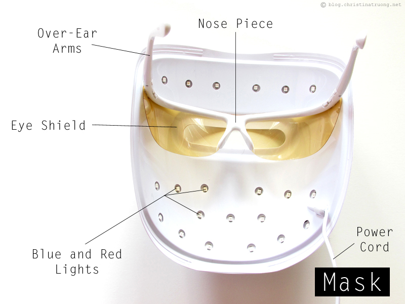 Neutrogena Light Therapy Acne Mask Information and Review