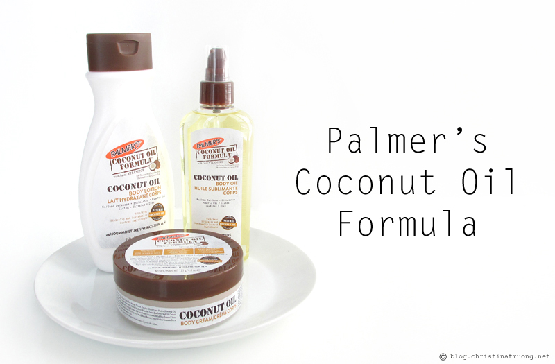 Palmer's Coconut Oil Formula Body Lotion, Body Cream, Body Oil Review