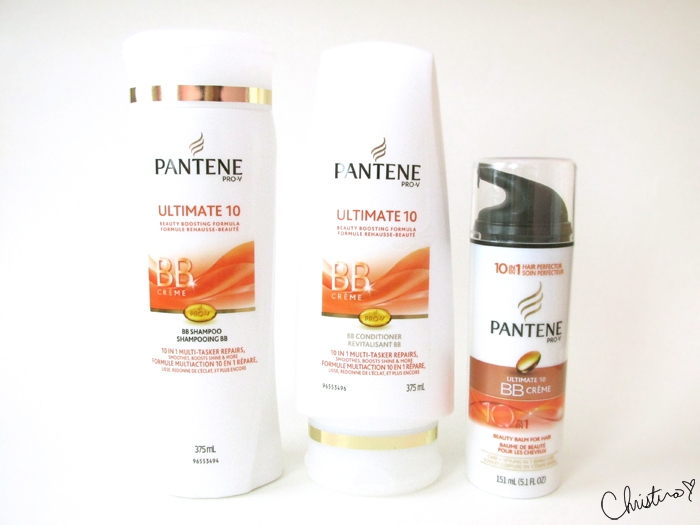 Pantene Pro-V Ultimate 10 Shampoo, Conditioner, BB Creme Collection Review
