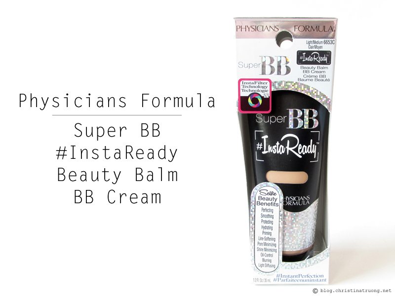 Physicians Formula Super BB #InstaReady Beauty Balm BB Cream
