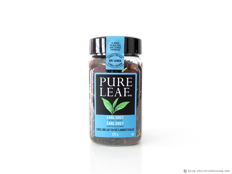 Pure Leaf Home Brewed Hot Teas Review in Pure Leaf Early Grey Tea Loose Long Leaf