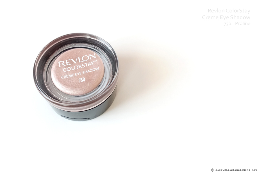 Revlon ColorStay Creme Eye Shadow Review in 730 Parline
