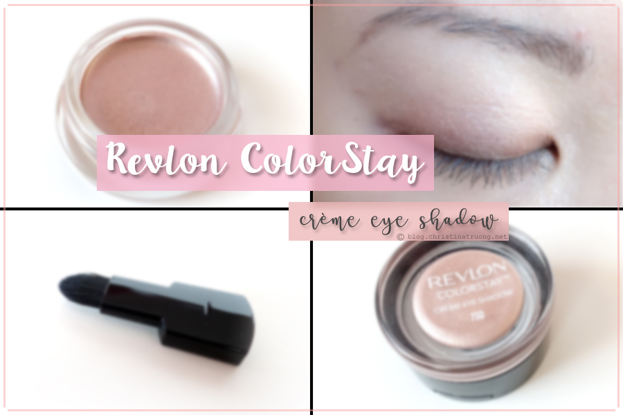 Revlon ColorStay Creme Eye Shadow Review