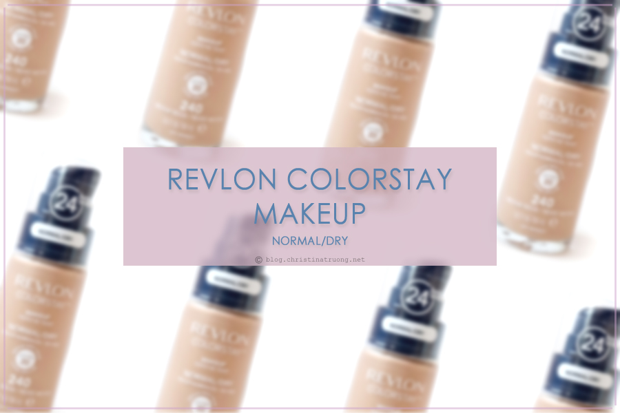 Revlon ColorStay Makeup Foundation Review in Normal/Dry - 240 Medium Beige