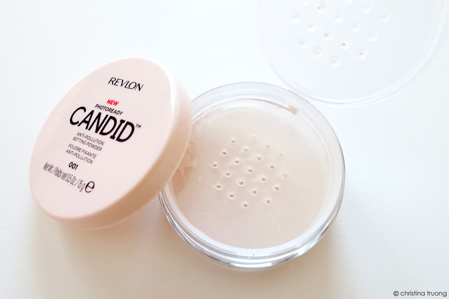 Revlon PhotoReady Candid Collection Review - Anti-Pollution Setting Powder 001