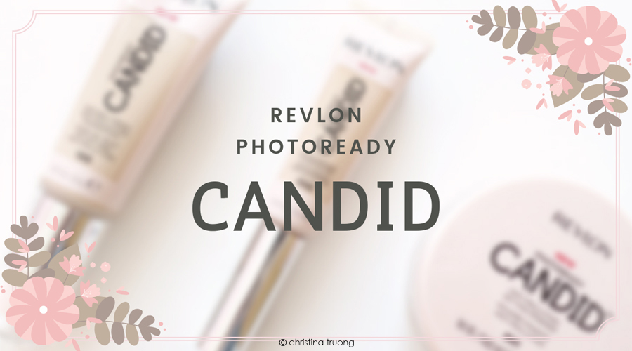 Revlon PhotoReady Candid Collection Review - Natural Finish Anti-Pollution Foundation 120 Buff. Antioxidant Concealer 005 Fair. Anti-Pollution Setting Powder 001.