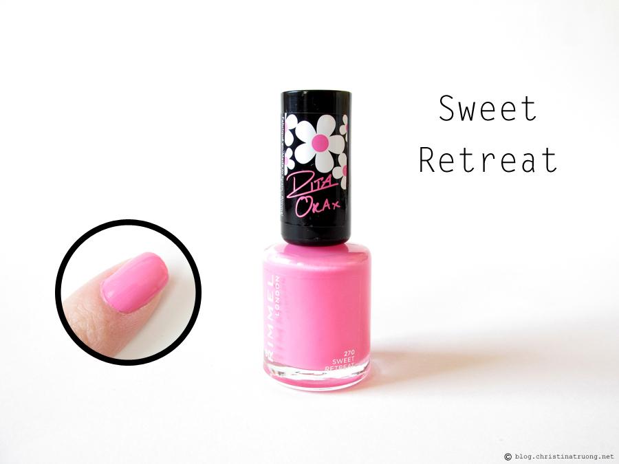 270 Sweet Retreat - Rimmel London 60 Seconds Super Shine Nail Polish by Rita Ora Collection