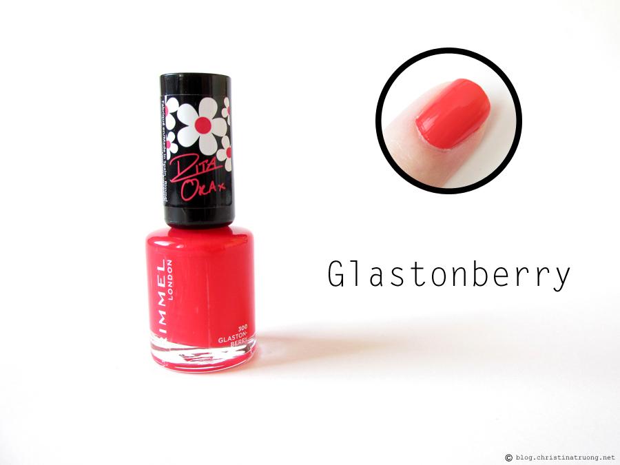300 Glastonberry - Rimmel London 60 Seconds Super Shine Nail Polish by Rita Ora Collection