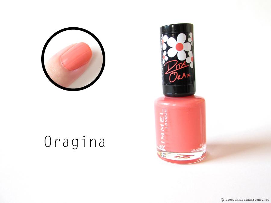 416 Oragina - Rimmel London 60 Seconds Super Shine Nail Polish by Rita Ora Collection