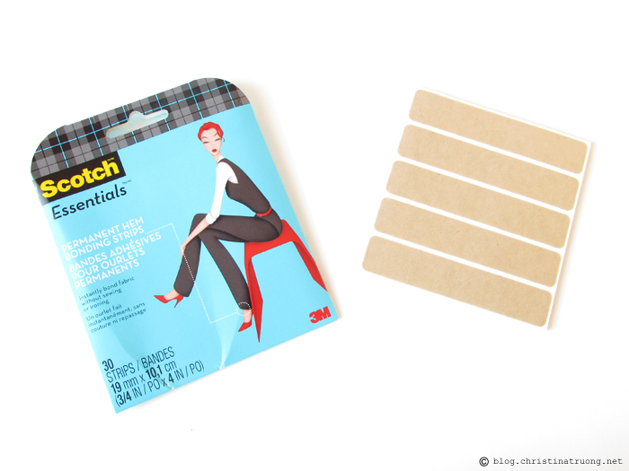 Scotch Essentials Permanent Hem Bonding Strips Review