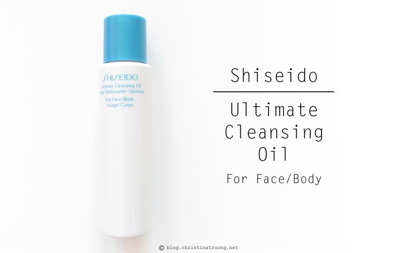 Shiseido S.O.S. (Save Our Skin) Kit featuring Shiseido Ultimate Cleansing Oil Review