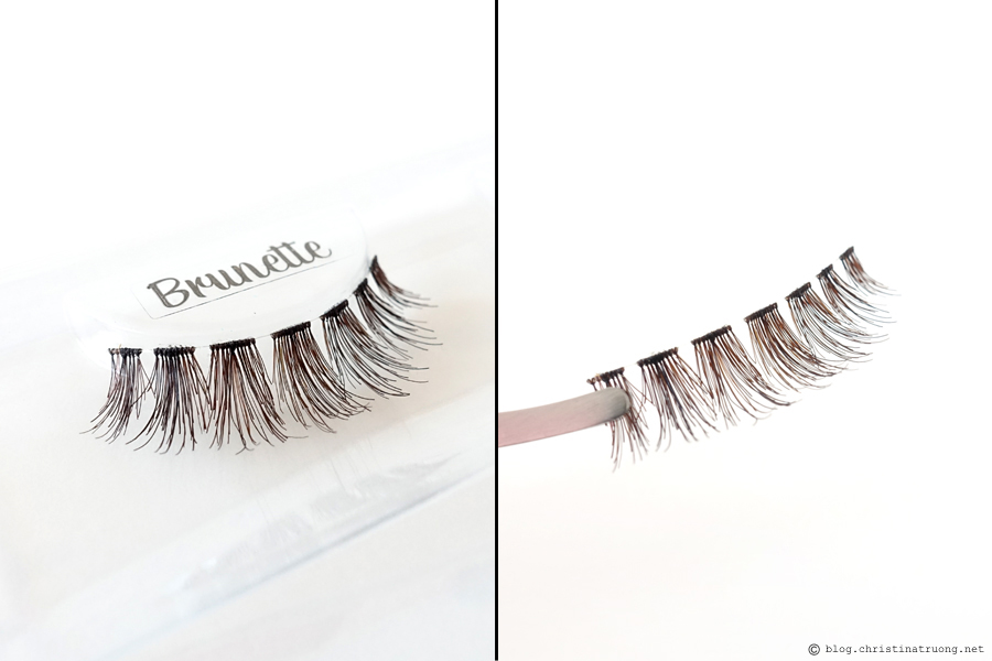 SocialEyes - Let Your Eyes Do The Talking. SocialEyes Brunette Lashes Review for Monolids