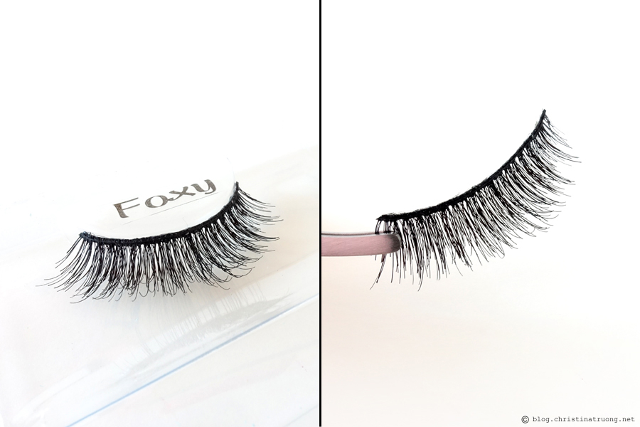 SocialEyes - Let Your Eyes Do The Talking. SocialEyes Foxy Lashes Review for Monolids