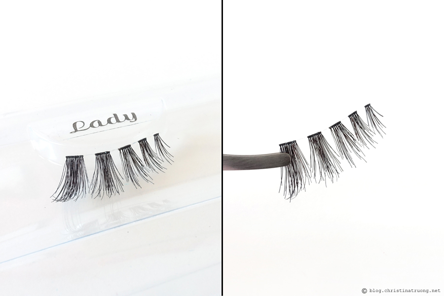 SocialEyes - Let Your Eyes Do The Talking. SocialEyes Lady Lashes Review for Monolids