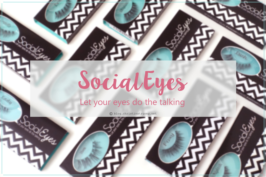 SocialEyes - Let Your Eyes Do The Talking. SocialEyes Lashes Review for Monolids.