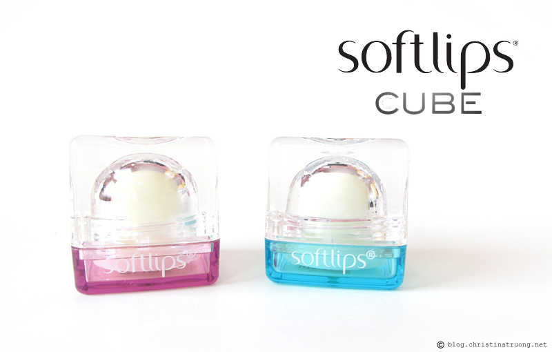 Softlips Cube 5-in-1 Lip Care First Impression Review Berry Bliss and Fresh Mint