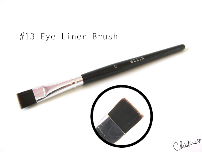 Stila Pro Artist Brush Set Review #13 Eye Liner