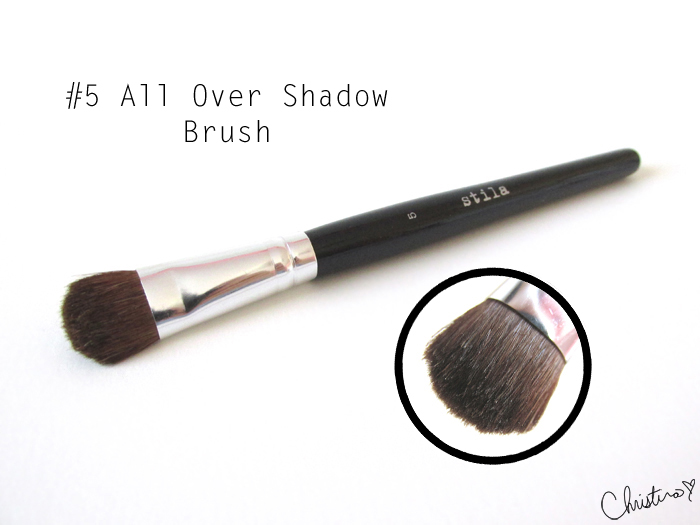 Stila Pro Artist Brush Set Review #5 All Over Shadow