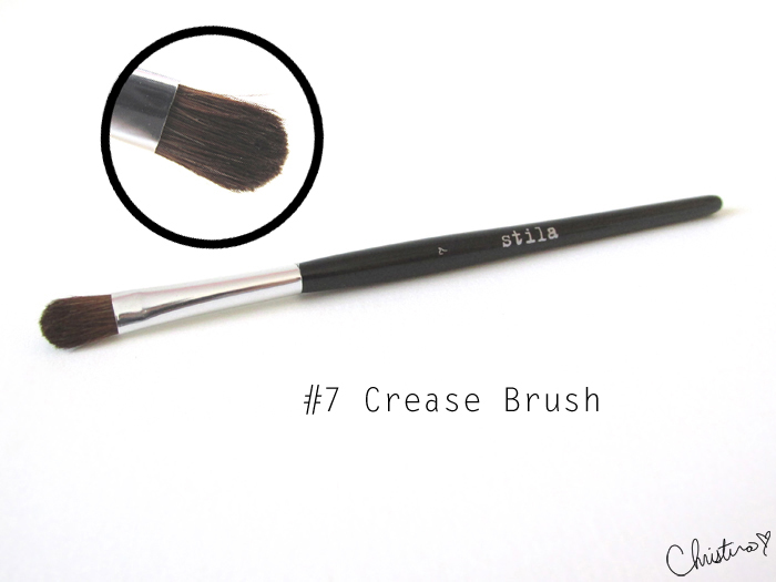 Stila Pro Artist Brush Set Review #7 Crease Brush